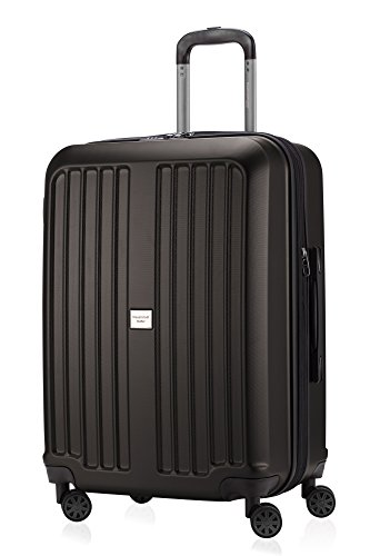 HAUPTSTADTKOFFER X-Berg - Valigia Rigida, Trolley medio ABS, TSA, Taglia 65 cm, 90 Litri, Grafite