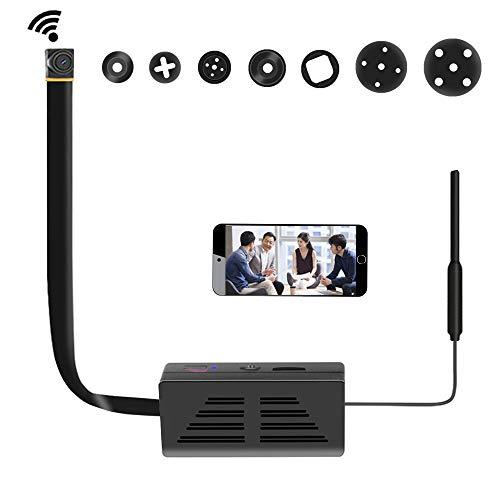 Microcamere Spia Wi-Fi,1080 P HD DIY Mini IP Telecamera Nascosta senza fili Telecamere Home/Sicurezza ufficio iOS/Android/PC
