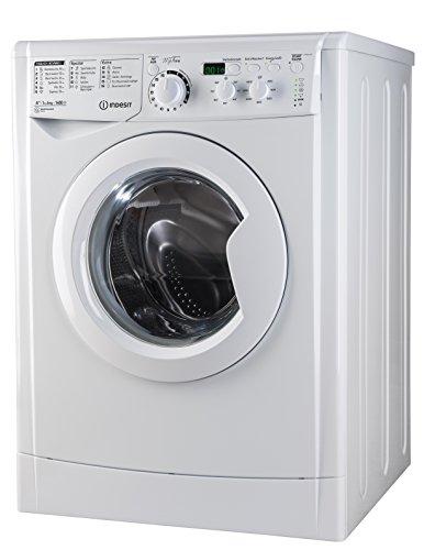 Indesit EWD 61482 W DE Waschmaschine FL / 163 kWh / 1400 UpM / 6 kg / 8643 Liter / MyTime, Schneller als 1 Stunde / Inverter-Motor / leise nur 54 db / Wasserstopp / weiß - 5
