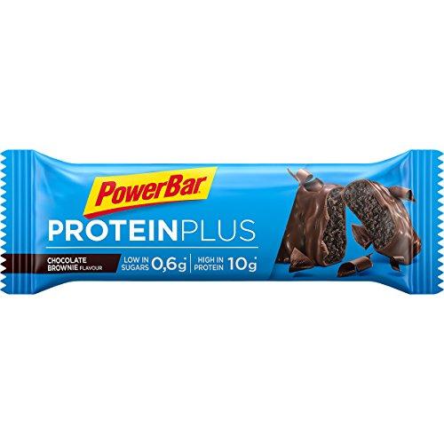 PowerBar Protein Plus Low Sugar Barre Protéinée Faible en Sucre Chocolat Brownie 30 x 35 g 6