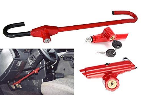 OZANGO Car Steering Wheel Brake Pedal Lock Adjustable Universal Anti Theft Security System for Honda Civic