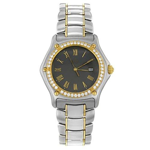 Ebel 19111087911/5260p 18K Gold & Stahl Quarz Herren-Armbanduhr