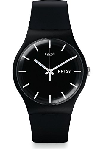 Swatch Herren-Uhren Analog Quarz One Size Silikon 86912082
