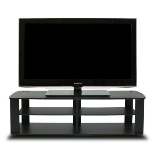 Furinno Fnaj, 11109Boyate - Mobile Porta TV, Noce, Black, Short 43.3'(W) x13.4(H) x13.1(D)