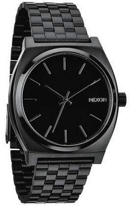 Nixon Time Teller Nero in Acciaio Inox, Nixon Orologio da Uomo disponibile in 9 Colorazioni. In...