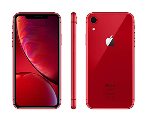 "Apple iPhoneXR - Smartphone de 6.1"" (64 GB) rojo"