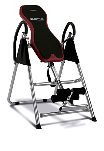 BH Fitness Zero Table d'inversion Mixte Adulte, Noir/Rouge