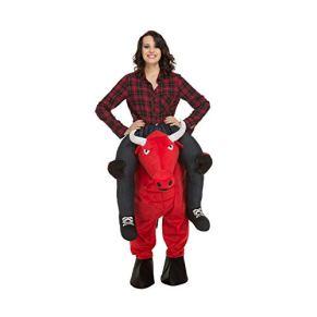 Desconocido My Other Me Ride-ON Toro Rojo Adulto
