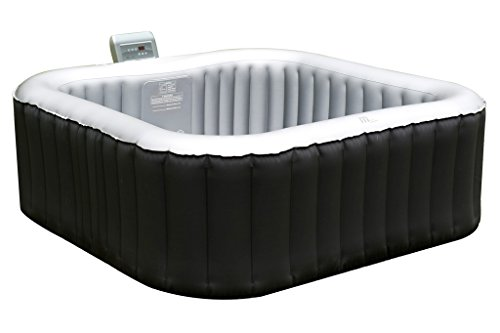 What an amazing hot tub, the Mspa Alpine Inflatable Portable Hot Tub may be slightly smaller than our best pick but the best thing about this model is that most of its functional components are inside the tub. One such integral part is the heating system and the fact that it's inside the tub makes it very quiet.