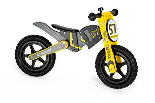 Small Foot- Biciclettina in Legno in Design da Motocross, 10739