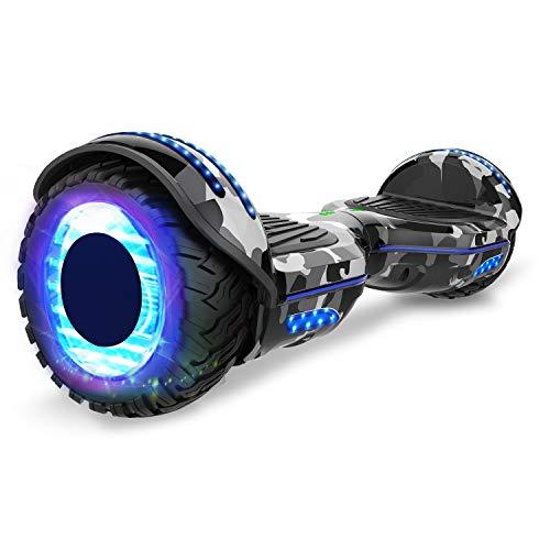 GEEKME Hoverboard auto bilanciamento Scooter elettrico da 6,5 '' per adulti Bambini-UL2272...