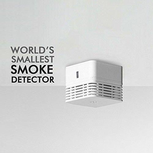 Smiledrive World's Smallest ABS Photoelectric Smoke Alarm Detector (White) 4