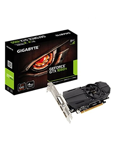 Gigabyte GV-N105TOC-4GL - Tarjeta gráfica Nvidia GeForce GTX 1050 Ti de 4...