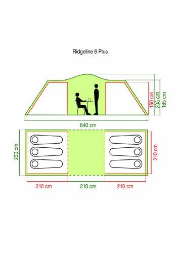 Coleman Ridgeline Plus Six Man Tent 2