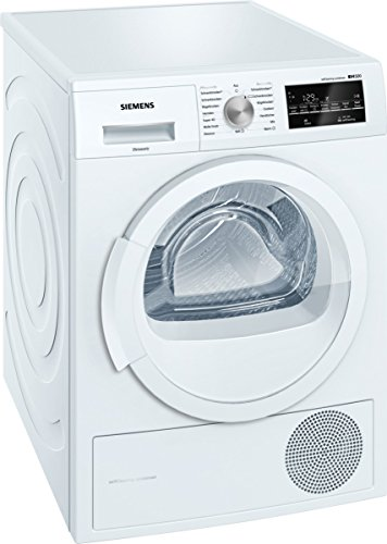 Siemens WT45W460 iQ500 Wärmepumpentrockner / A++ / kWh / 7 kg / Großes Display mit Endezeitvorwahl weiß