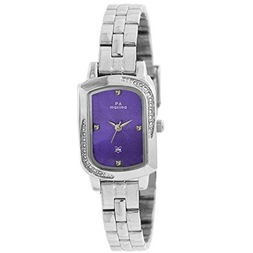 Maxima Analog Purple Dial Women's Watch - 41383CMLI