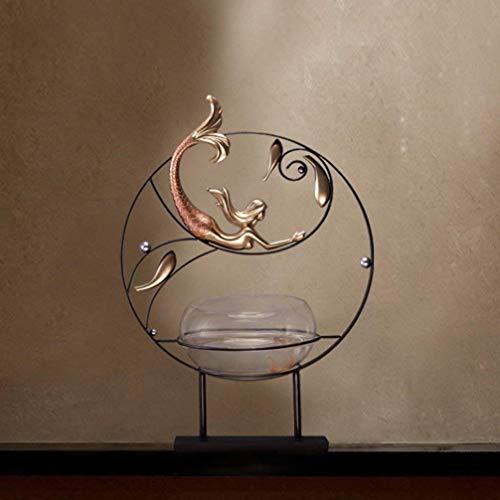 HXPBJ Ornamenti Scultura Creativa Pratica Ingresso Domestico Armadietto Decorazioni Armadio Zen...