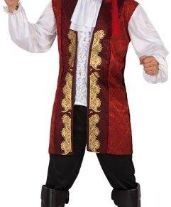Atosa - Disfraz de pirata para hombre, talla 50-52 (5942)