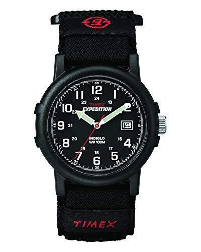 Timex Herren-Armbanduhr Analog Quarz Nylon T40011