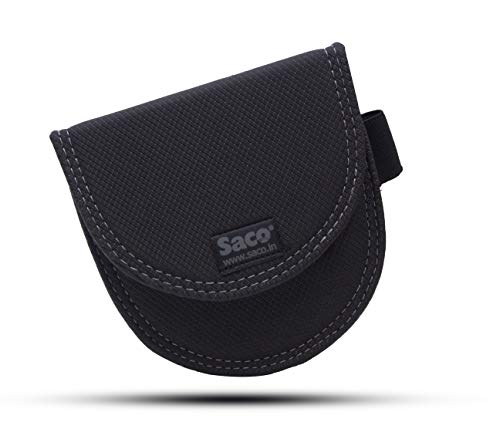 Saco Plug and Play Case Pouch Exclusively for All-New Echo Dot (3rd Gen) - Smart Speaker with Alexa