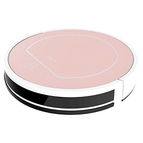 ILIFE, Robot pulitore Smart V7S,colore: rosa dorato