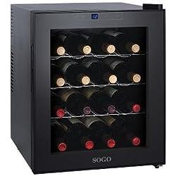 Sogo NEV-SS-150 - Vinoteca para 16 botellas