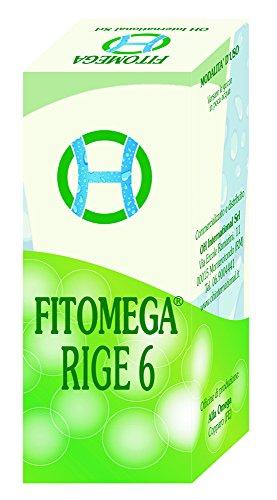 FITOMEGA RIGE 6 - GTT 50 ml - Complesso Fitosinergico