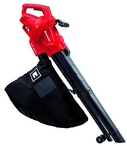 Einhell 3433300 GC-El 2500 Aspirafoglie/Soffiatore, 2500 W, 230 V, Nero, Rosso