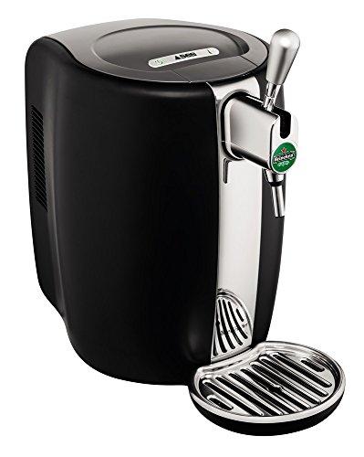 Seb VB310310 Machine à Bière Pression Beertender Tireuse à bière Pompe Fût 5L Noir et Inox