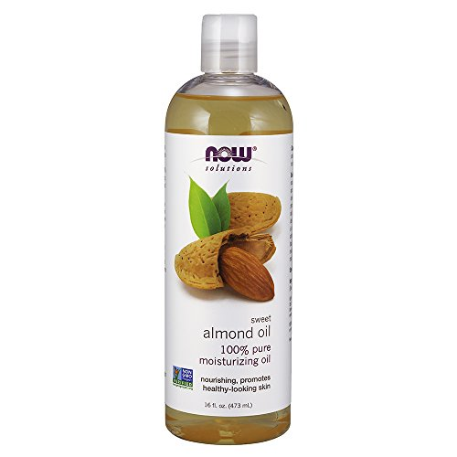 now Solutions Sweet almond oil, olio idratante, 453,6 gram