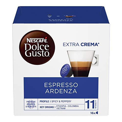 NESCAFÉ Dolce Gusto Espresso Ardenza, Caffè Espresso, 6 Confezioni da 16 Capsule (96 Capsule)
