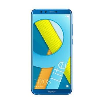 "Honor 9 LITE - Smartphone Android (pantalla infinita 5,65"" FHD+ 18:9, 4G, 4 cámaras 13MP+2MP, 3GB RAM, 32GB, lector de huellas, Octa-core, 3000 mAh), Azul"