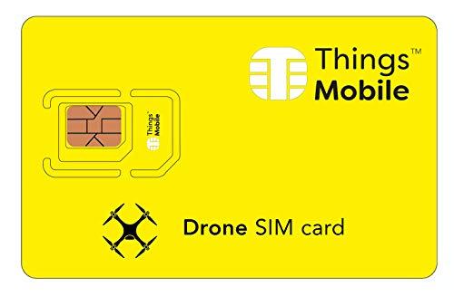 SIM Card per DRONI   QUADRICOTTERI - Things Mobile - con copertura globale e rete multi-operatore...