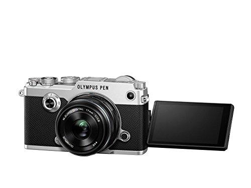 Olympus PEN-F - Cámara EVIL (estabilizador), color plata - Kit con objetivo M. Zuiko 17 mm f1.8