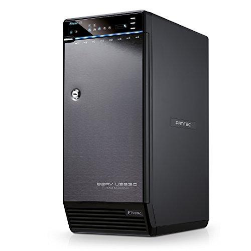 Fantec QB-X8US3-6G Case esterno a 8 alloggiamenti per hard disk da 8,89cm ( 3,5'), USB 3.0...