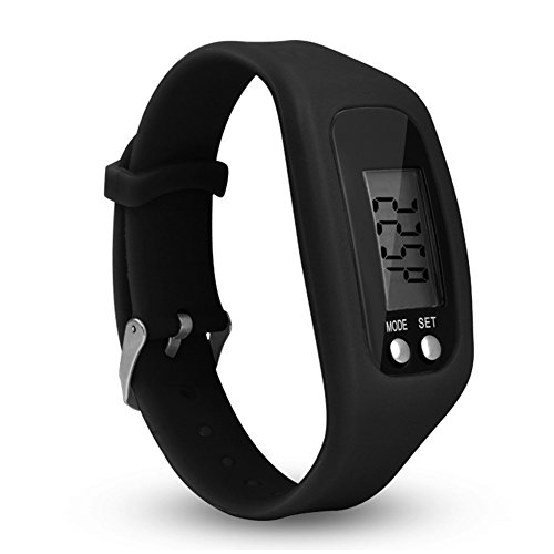 Favolook - Contapassi smart, fitness tracker con orologio facile da usare, ideale per camminate e...