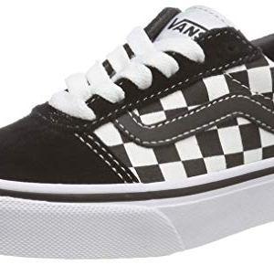 best sneakers 67bda a3cd9 Vans Ward Suede Canvas, Scarpe da Ginnastica Basse Unisex – Bambini