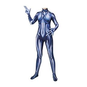 KLEIDEE Cosplay Ropa DC Mujer Flash Cosplay Disfraz Lycra Medias Siamesas 3D Impresión Digital Tight Christmas Halloween Fancy Dress For Adult Wear S