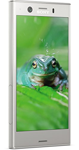 Sony Xperia XZ1 Compact Smartphone (11,65 cm (4,6 Zoll) Triluminos Display 19MP Kamera, 32GB Speicher, Android) Silber - Deutsche Version