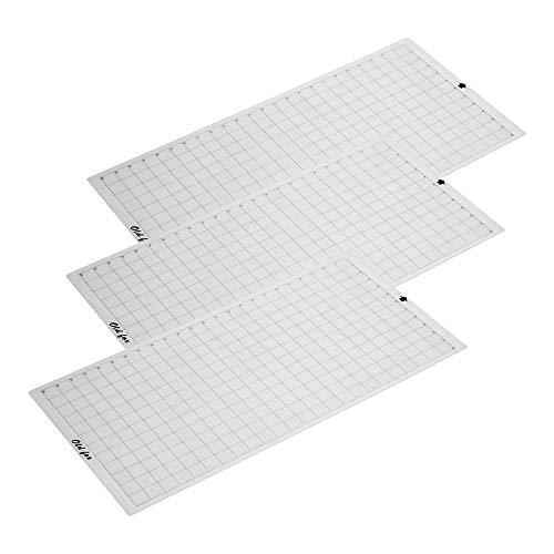 Aibecy OLD FOX Tappetino di ricambio Tappetino adesivo trasparente con griglia di misurazione 12 *...