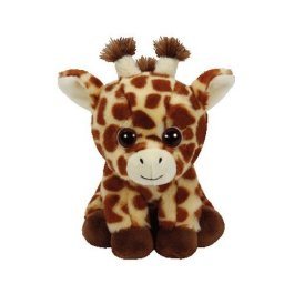 Ty unisex peluche marrone Peaches Giraffa di peluche 15cm glub schis