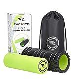 G2 Sportswear - Rodillos de Espuma PowerPro 2-en-1. Para Músculos Apretados y Rehabilitación de Lesiones, Condiciones Crónicas de Espalda, Celulitis, ácido Láctico y Migrañas.