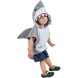 Coco Said Childs Animal Tabard: Shark (One Size(90-120cm, niña)