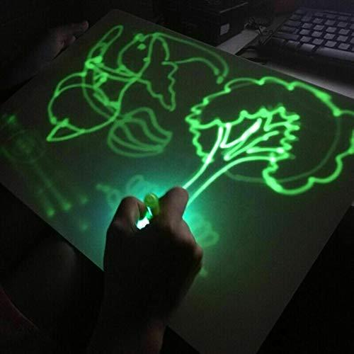 xinxinyu- Giocattolo Tavolo da Disegno per Bambini Lavagna Luminosa educativo Magico Disegno...