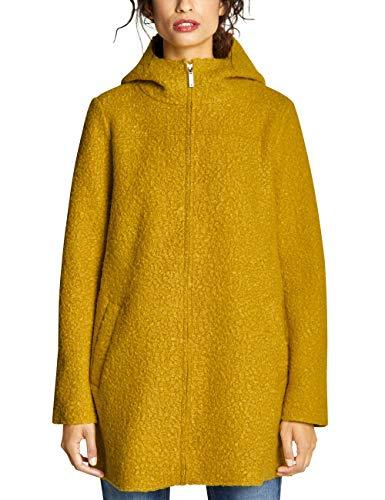 Street One Damen 201374 Mantel, Gelb (cool Saffron 11790), Herstellergröße:44