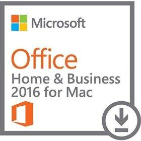 Microsoft OFFICE 2016 Famille et Entreprise (MAC) CLE D'ACTIVATION UNIQUEMENT - Vendeur Français