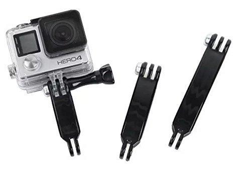 Goliton prolungamento del braccio fissato per GoPro Hero3 / 3 + / 4 - Nero