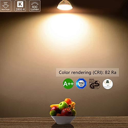 Bojim Faretti LED Incasso GU10 6 × Luci da Incasso Cartongesso Plafoniere LED Soffitto Orientabile...