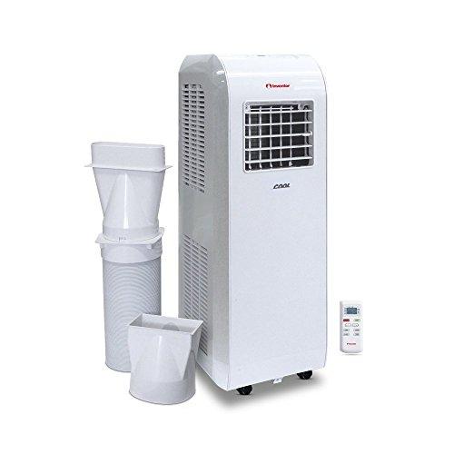 Inventor Cool 8.000 Btu/h Climatiseur Portable 2-en-1 Refroidissement & Capacité de Déshumidification