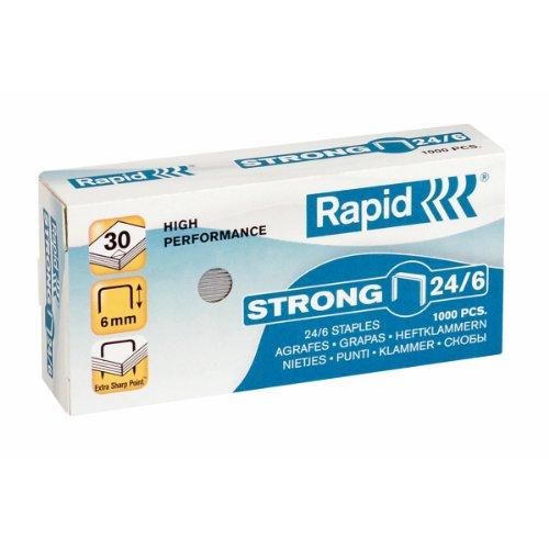 RAPID Punti metallici Strong 24/6 - 24855800